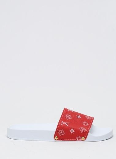 Shoes1441 Terlik Kırmızı